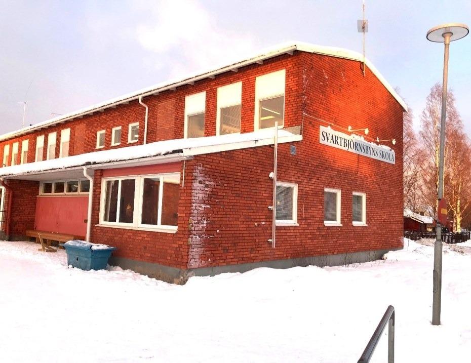 Svartbjörsbyns skola fortsatt stängd till 9 dec