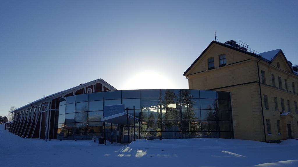 Försvarsmuseum Boden Januaribild Entré