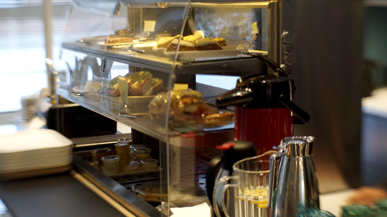 Fika fräscht på Bodens stadshus i Café 2:an