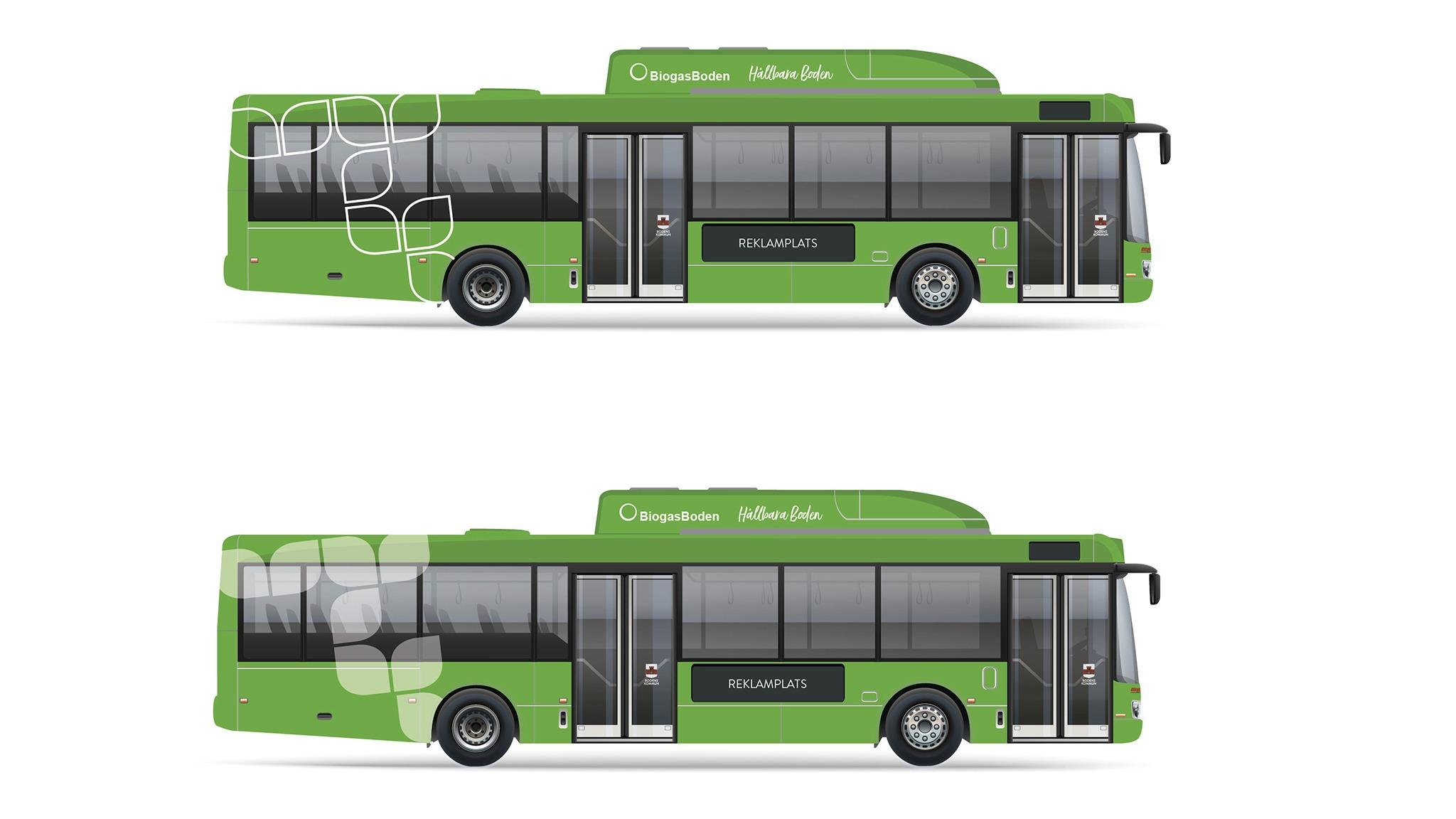 Så blir lokaltrafikens nya bussar