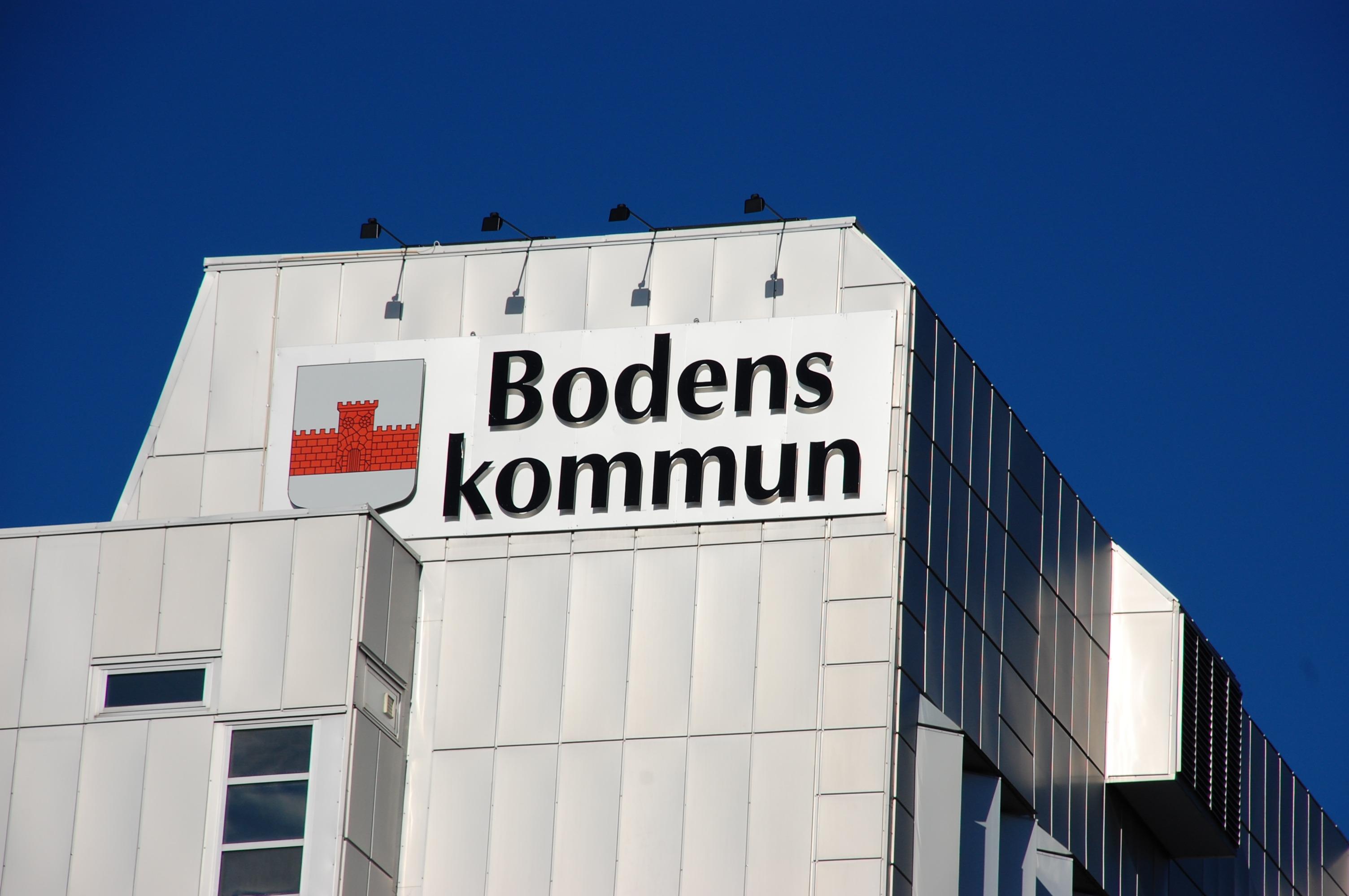 Foto av Bodens stadshus A