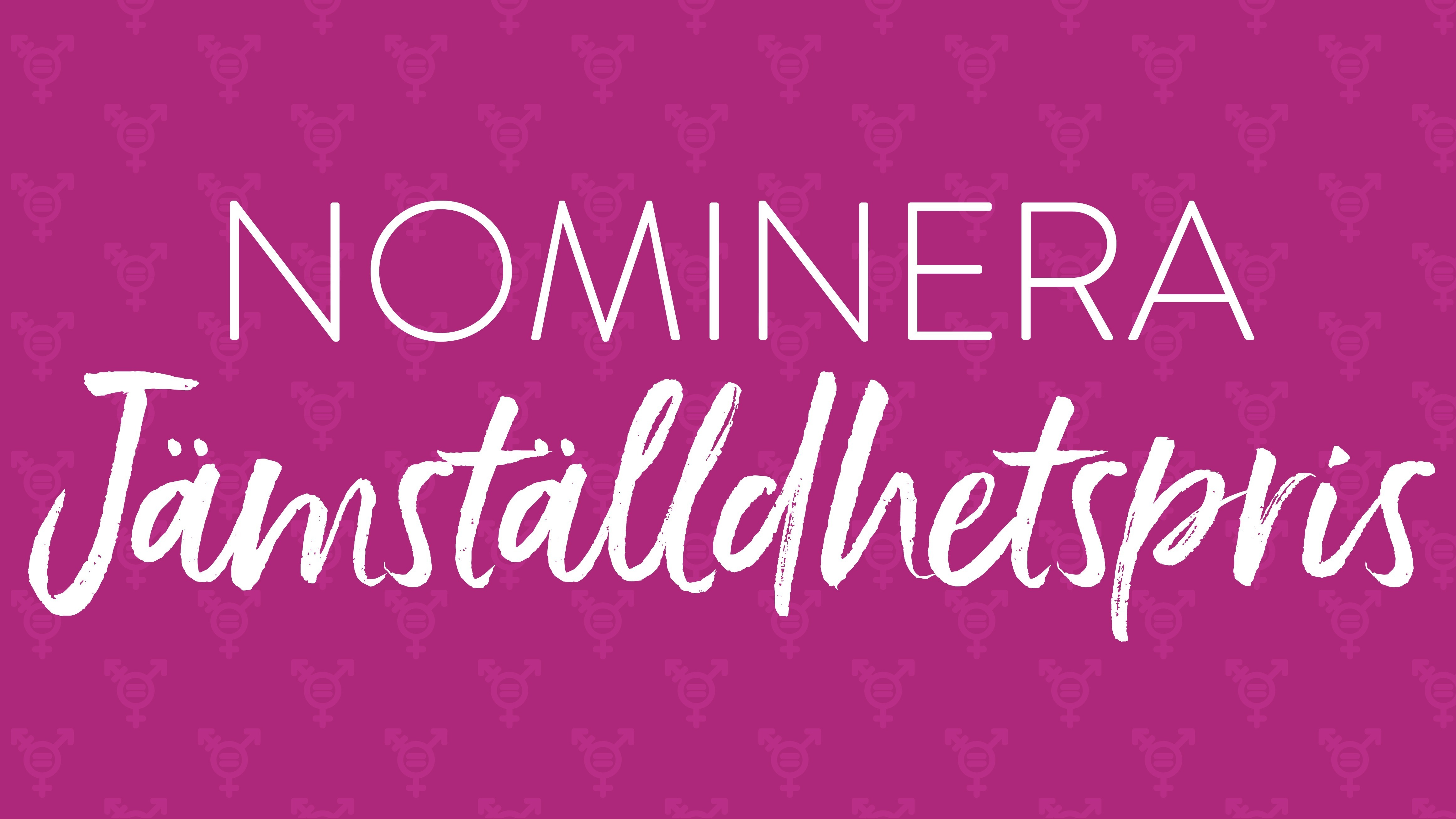 Nominera till Bodens kommuns jämställdhetspris