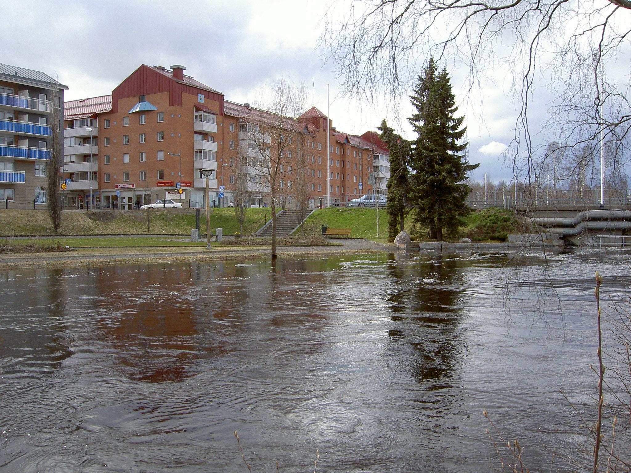 Sänkt vattennivå inför vårfloden