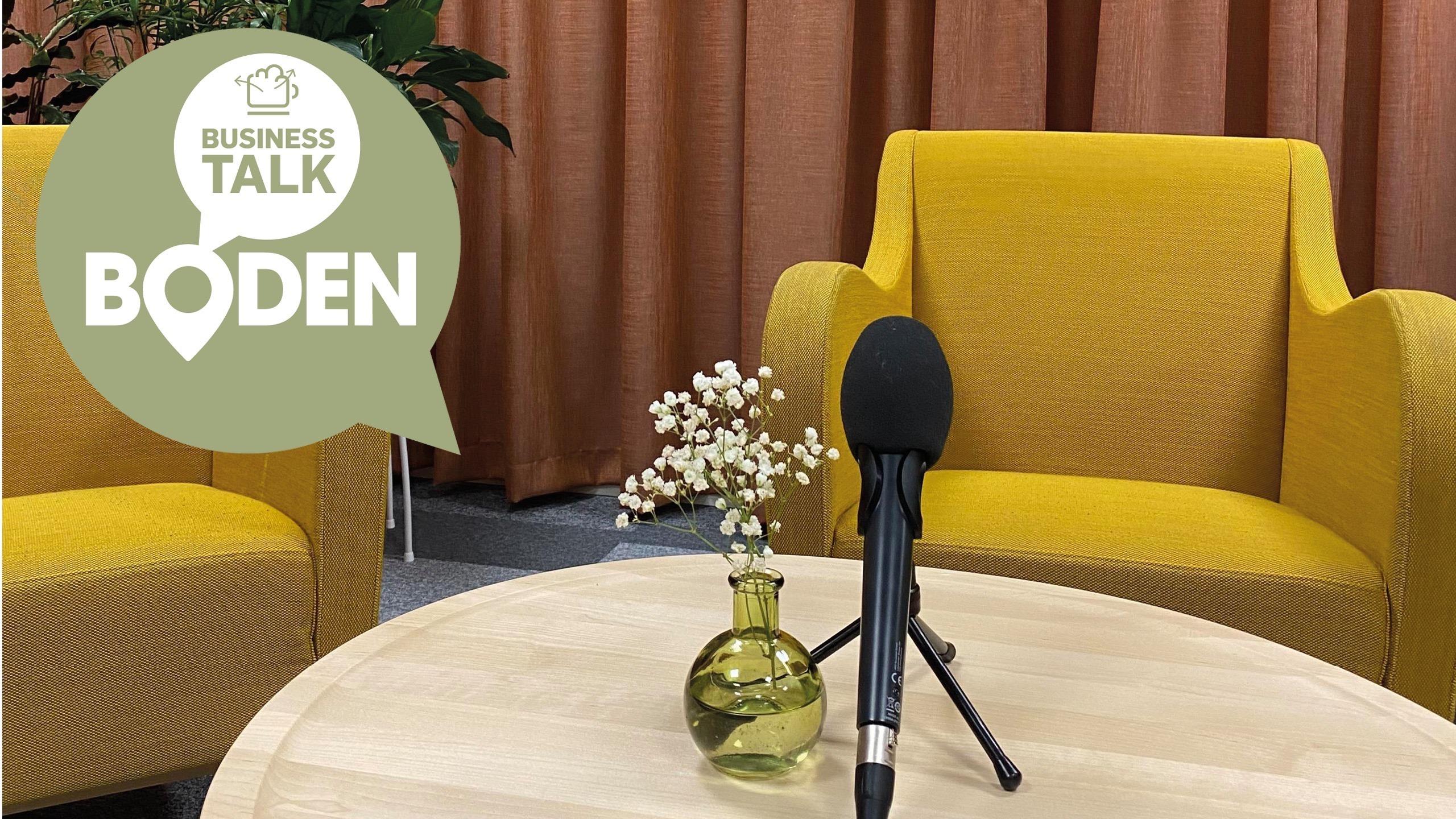 Livesänd Boden Business Talk