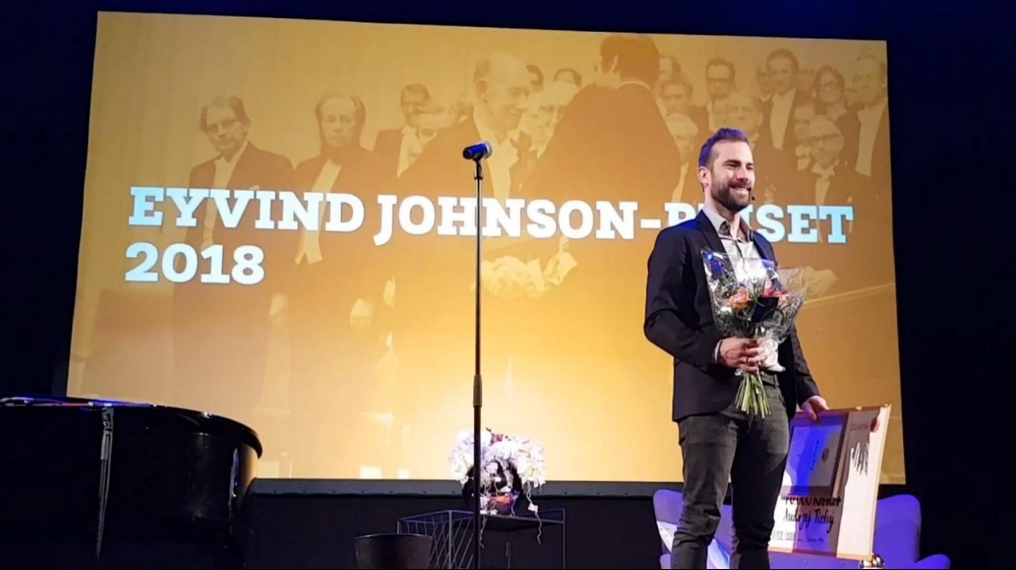Pristagare Eyvind Johnson-priset i litteratur 2018
