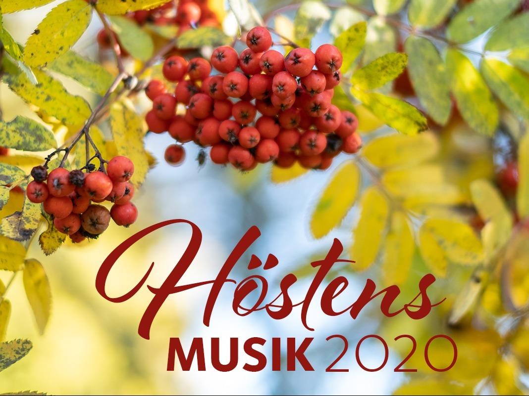 Svenska kyrkan höstens musik 2020