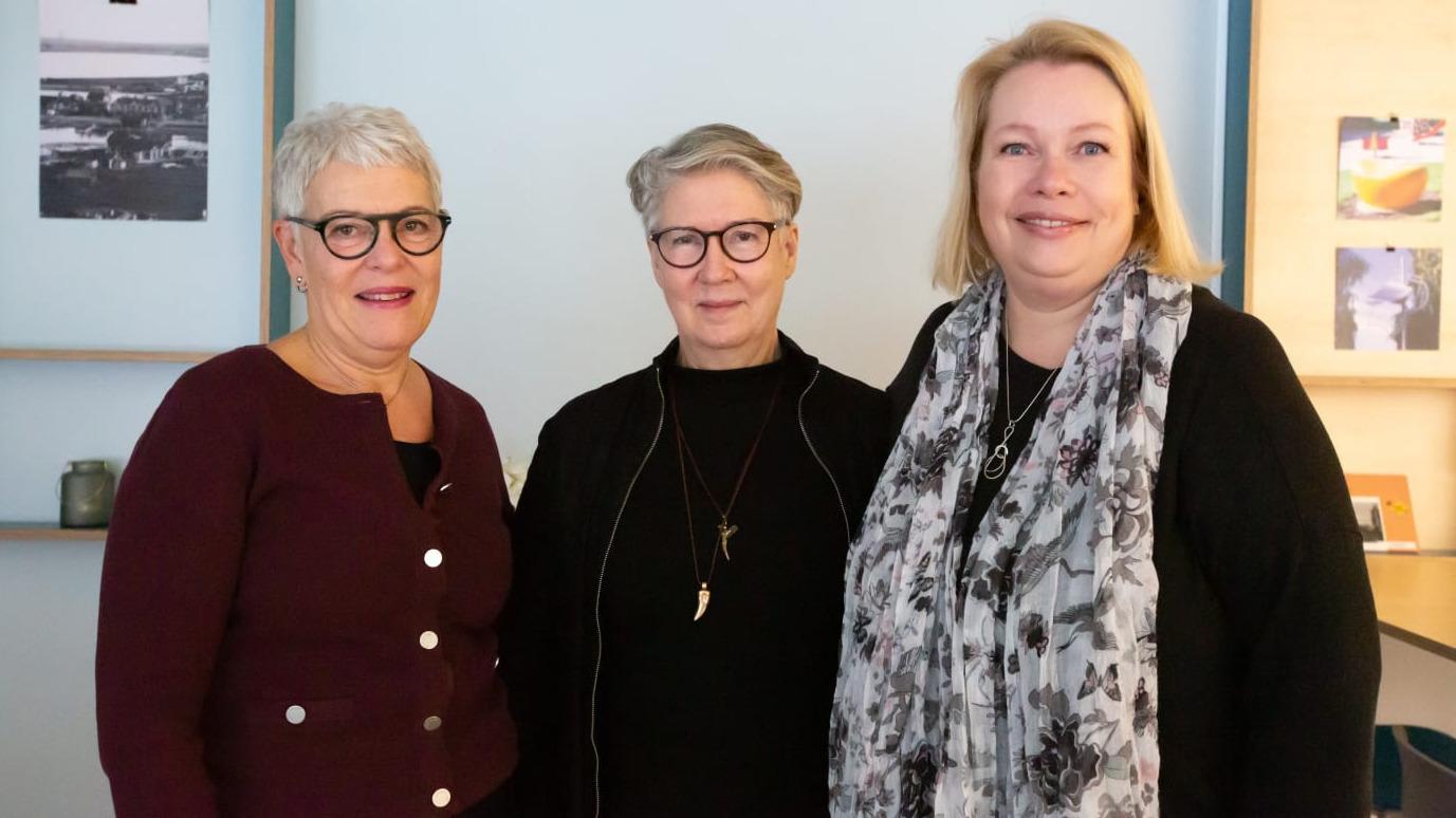 Ewa Degerman, Piteå kommun, Birgitta Nilsson, Luleå kommun och Maria Lundgren, Bodens kommun.