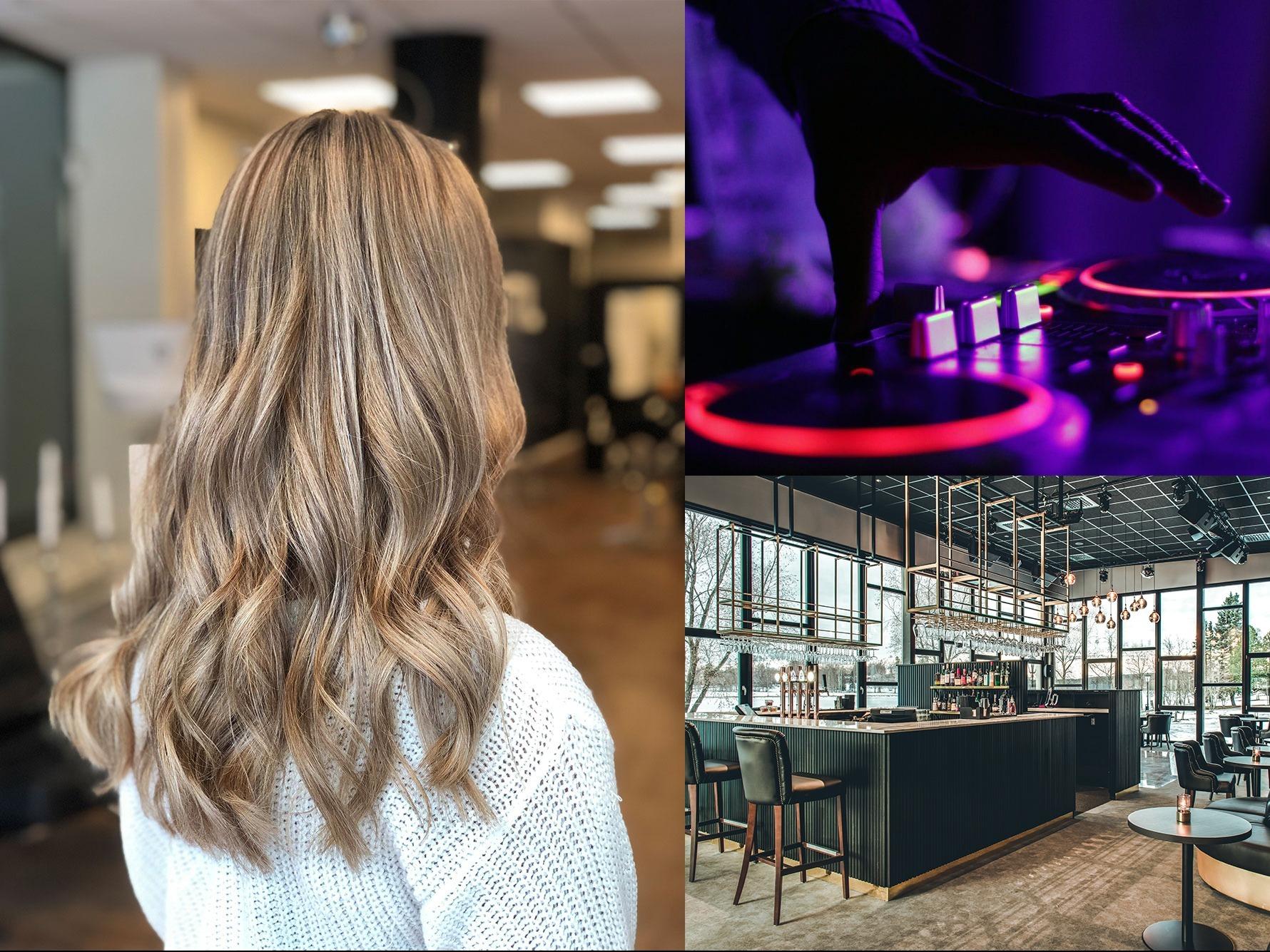Hair & lounge med Salong Stil