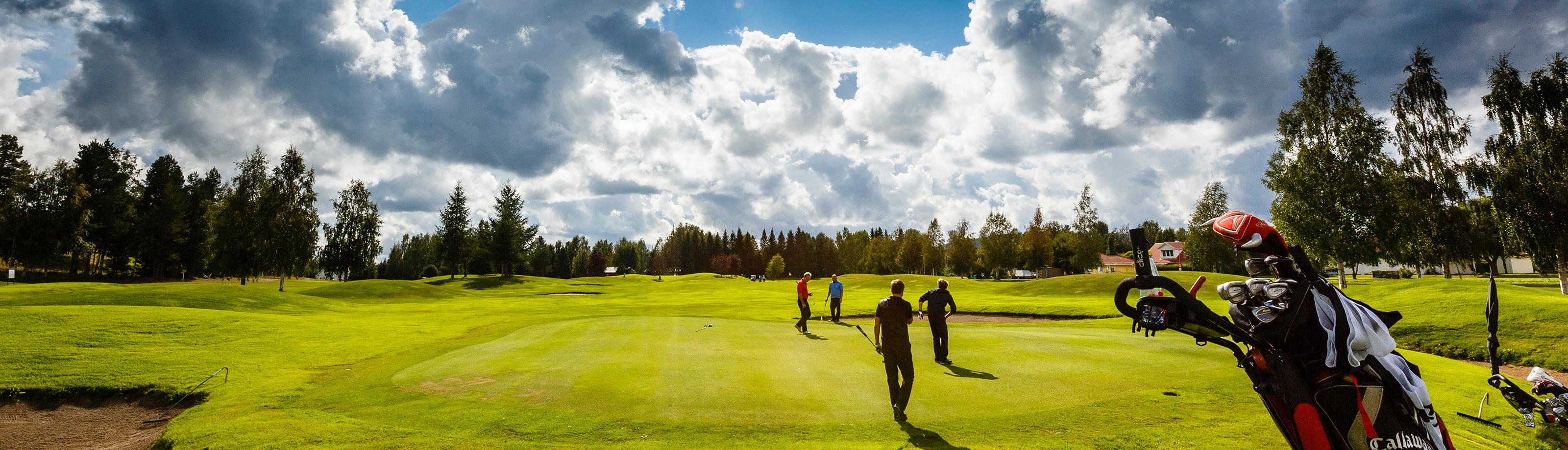 Golfbanan i Sävast