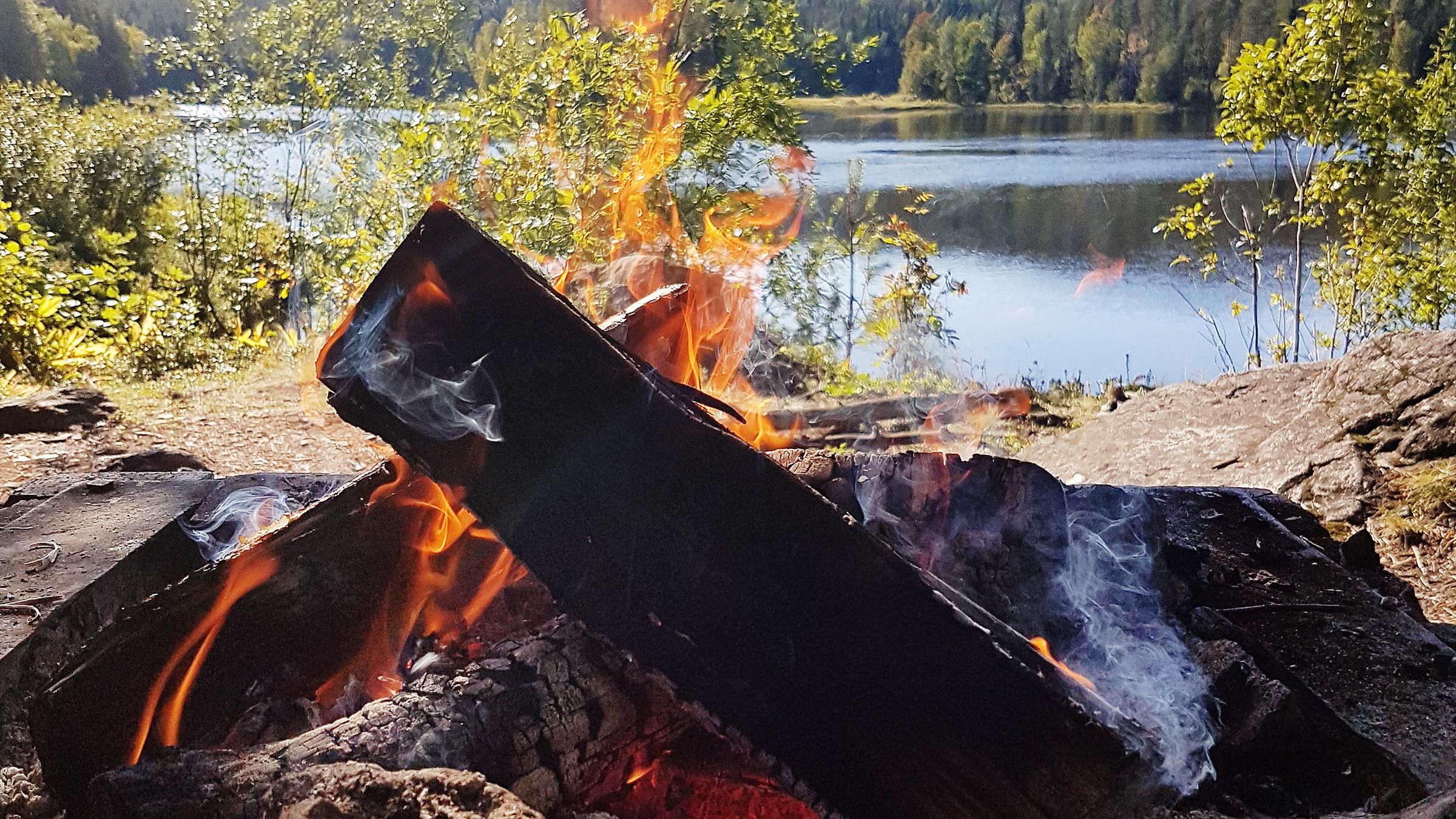 Eldningsförbudet upphör