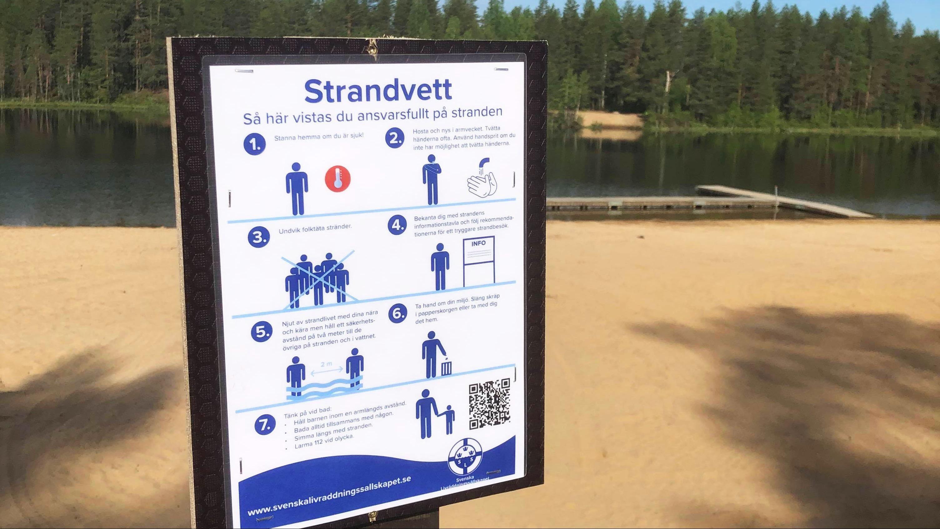 Nu är Aldersjön officiellt öppen för badsäsongen 2020!