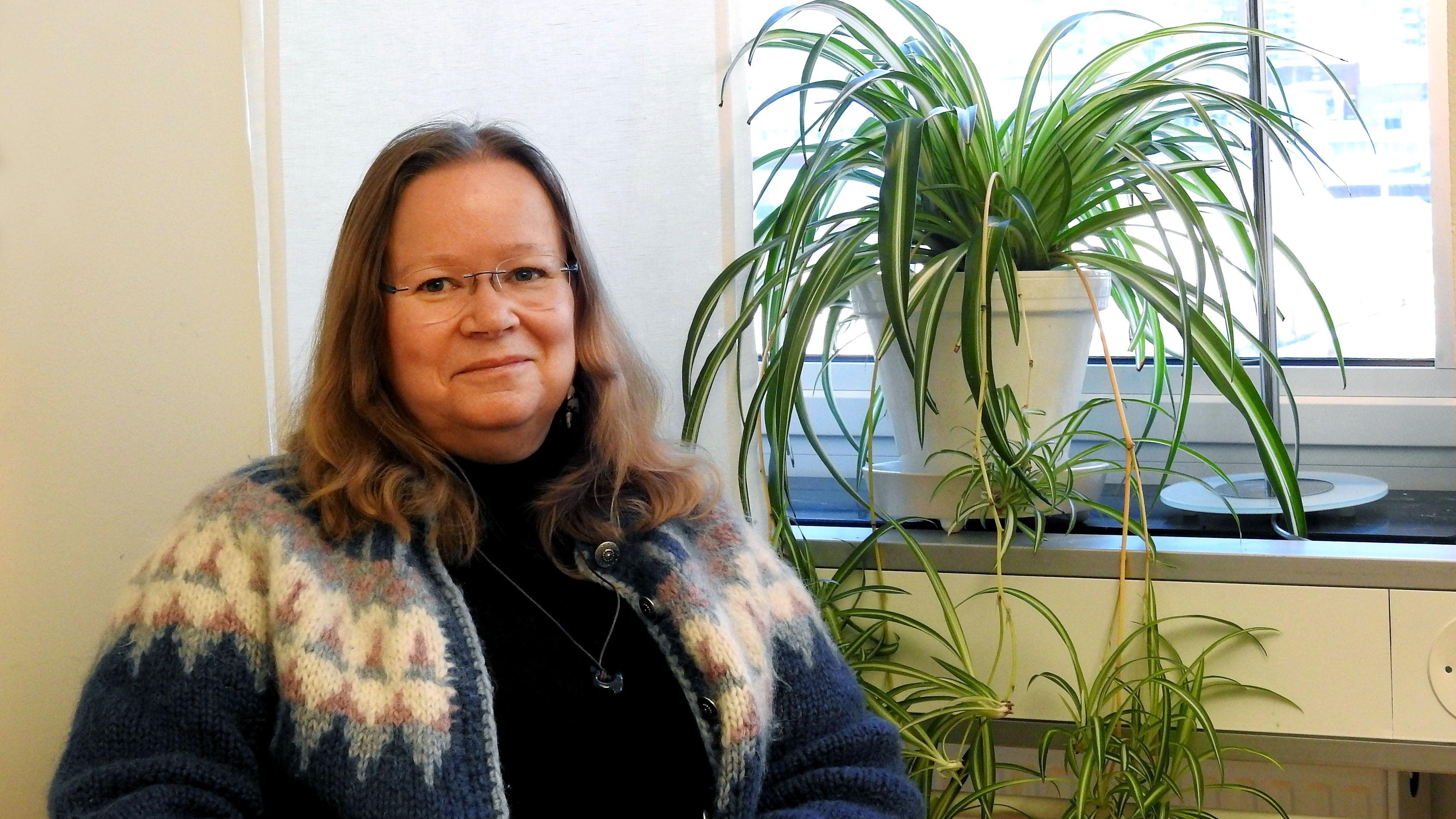 VA- rådgivare Arja Kalvas