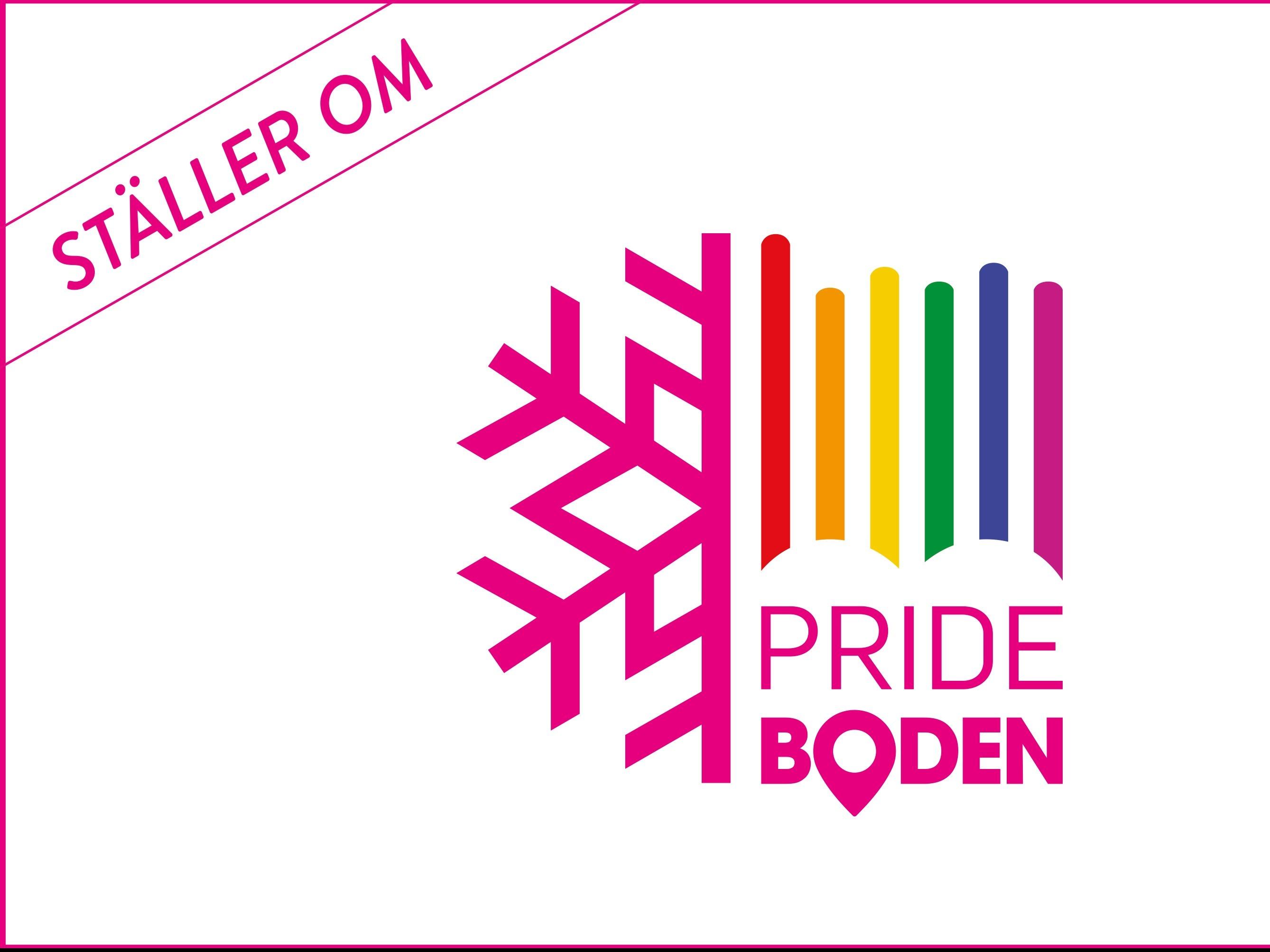 Pride boden omställd 2020