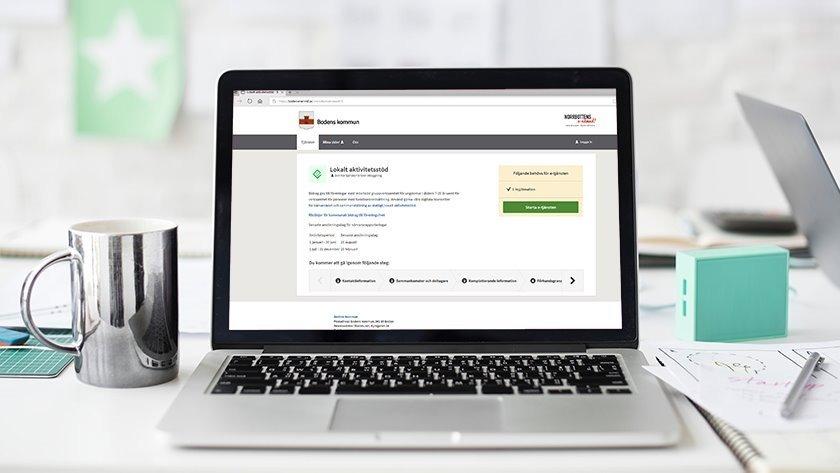 E-tjänst ansökan lok-stöd