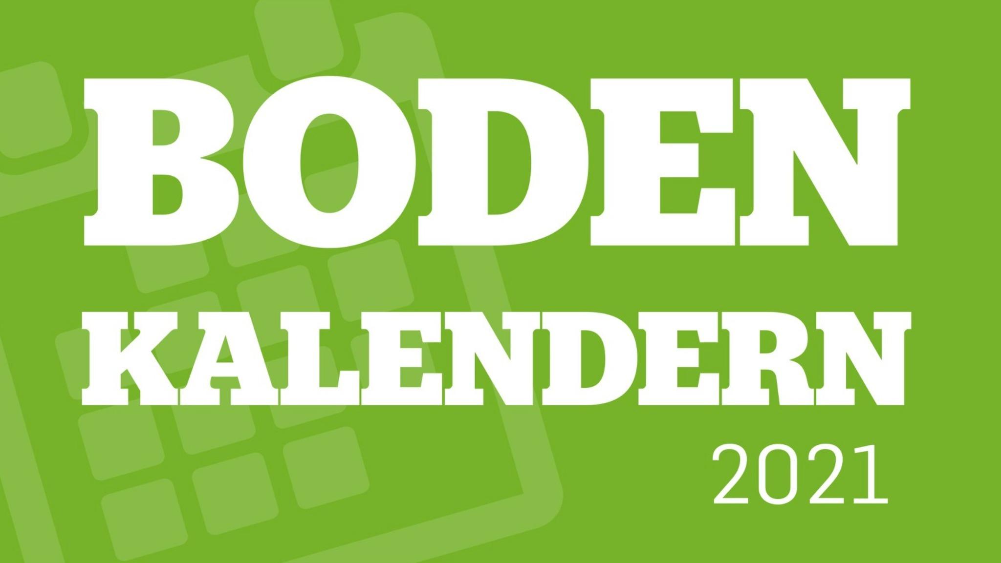 Köp en Bodenkalender och stötta ett hållbart Boden.
